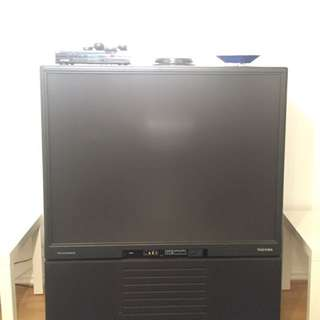 Flat Screen Box Television