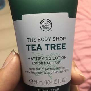 Body Shop Tea Tree Mattifying Lotion
