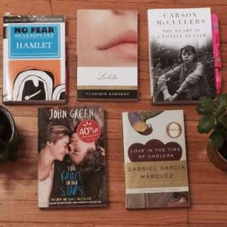Popular Assorted Books! Good Condition!