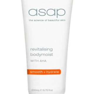 ASAP Revitalising Body Moist New 200ml Authorised Stockists RRP $45