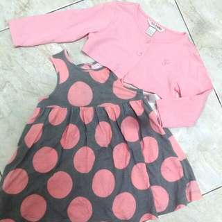 Baby PONEY Dress Set
