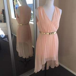 Missguided Pleat Dress