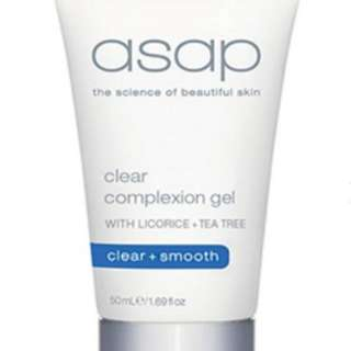 ASAP Clear Complexion Gel Authorised Stockist 50ml RRP $55