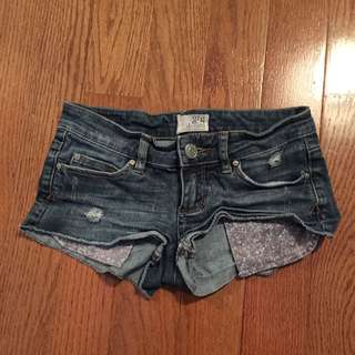 Jean Shorts From Garage