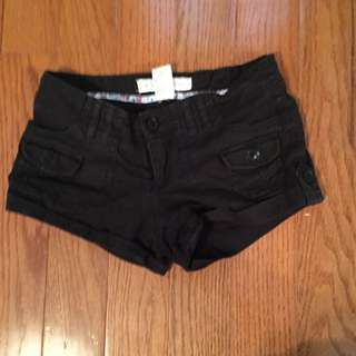 Black Shorts From Garage