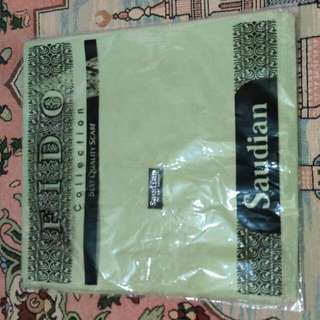 saudia hijau pastel