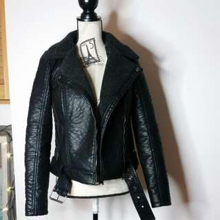 Only Faux Leather Jacket