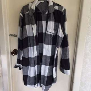 Country Road Flannel Tee