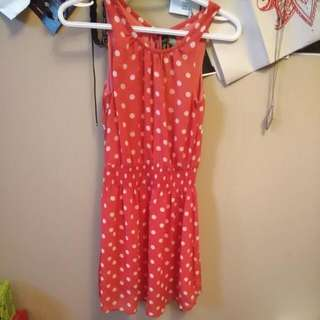 Retro Polkadot Dress