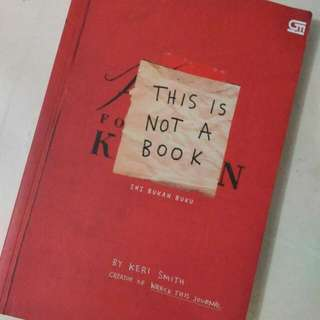 [FREEONG] This Is Not A Book Sexond Edition Of Wreck This Journal By Keri Smith Original