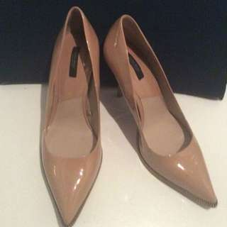 Zara Brand Nude Shoes