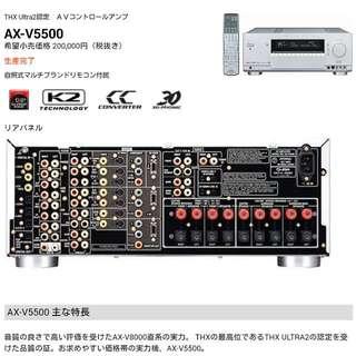 JVC Victor AX-V5500 THX AV Surround Amplifier