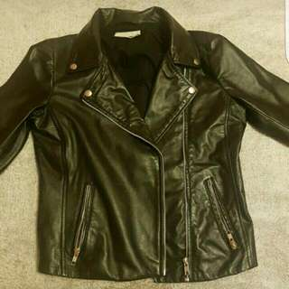 Noisy May Leather Jacket