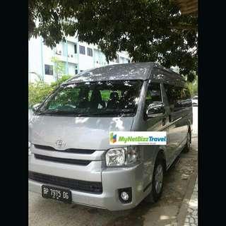 Batam 16 Seater Van/Coaster Transport Rental With Driver