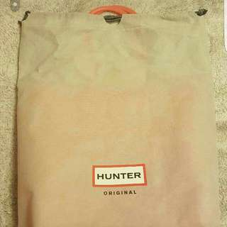 Hunter Pink Silicone Bag