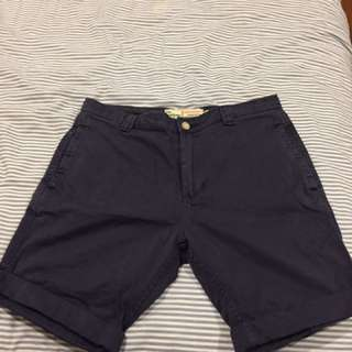 The Academy Brand Navy Shorts