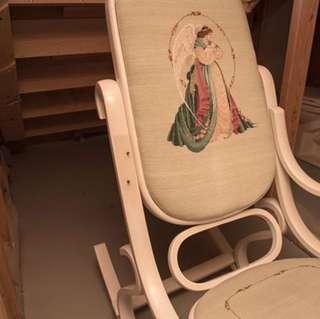 Needlepoint Rocking Chair