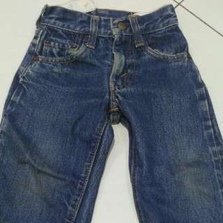 Vintage Toddler Levis Big E