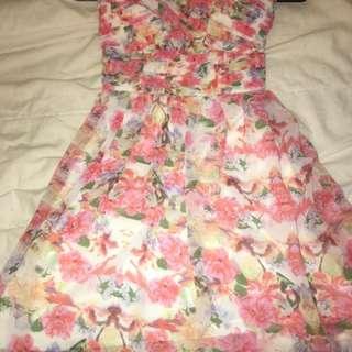 Dotti Floral Dress Size 8