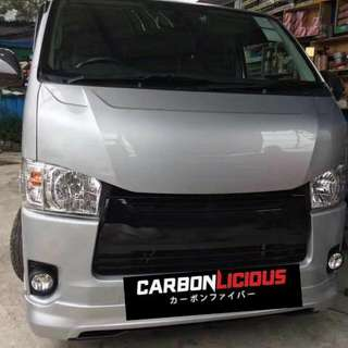 Hiace New Design Cobra Hood.