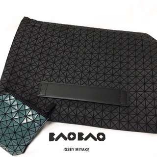 Baobao Sports line 限定款雙層文件夾(筆電包)#我有正品名牌包要賣