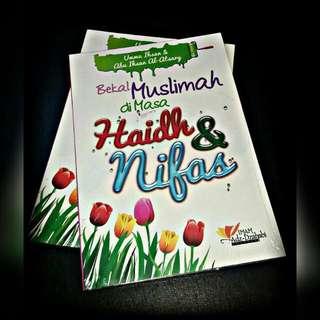 Bekal Muslimah di masa Haidh & Nifas