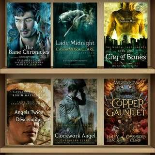 Complete Cassandra Clare Ebooks