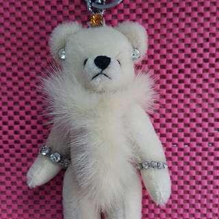 手工精緻小熊掛飾