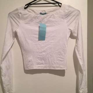 Kookai Layla Top White Size 1