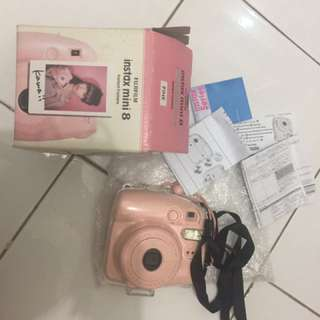 instax mini 8 baby pink