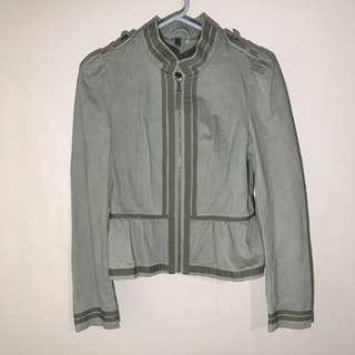 H&M Army green Jacket L