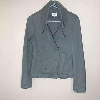 Grey Sweater Jacket