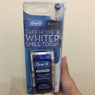 ❤️REPRICED❤️ORAL B 3D Whitening Kit