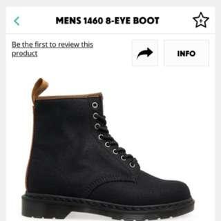 Dr Martens 8孔黑色馬汀鞋