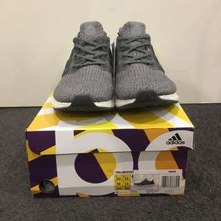 Adidas Ultraboost 3.0 Mystery Grey US 11.5 (New)