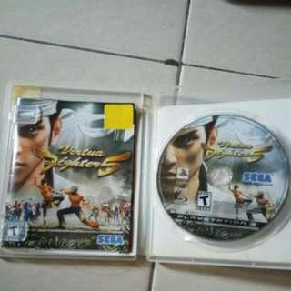 Virtua Fighter 5 PS3 Original Games