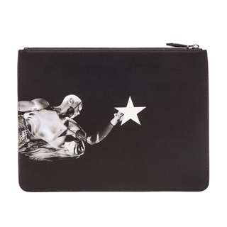 Givenchy Men's Leather Pouch : Basketball Player (small) ORIGINAL
