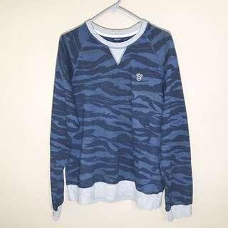 Men's LRG Blue Camo Sweatshirt
