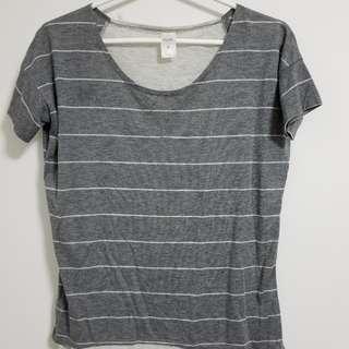 Grey Flowy Shirt