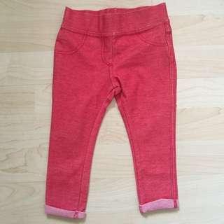 Zara Baby Red Jeggings