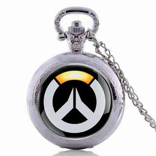 Overwatch Pocket Watch Pendant
