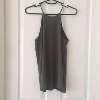 Grey Shirt Size 8