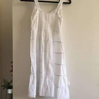 ❀ WHITE SUMMER DRESS