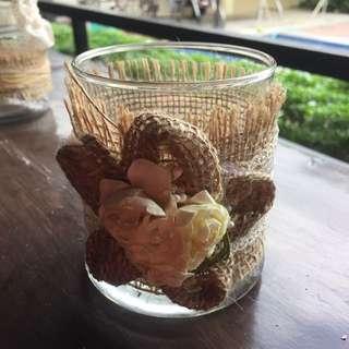 Decorative Glass Jar