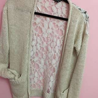 Urban Planet Lace Cardigan