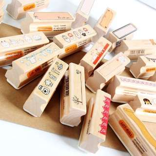 Cute Wooden Stamp