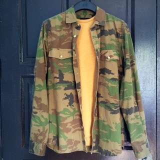 Pull&Bear Camoflage Jacket Limited Edition