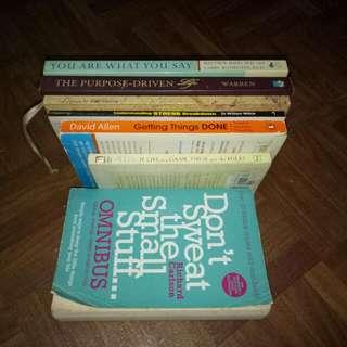 (Set 1) Book Bundle For 550