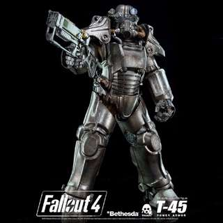 """Fallout 4 T-45 Power Armour 14.5"""" Collectible Figure"""