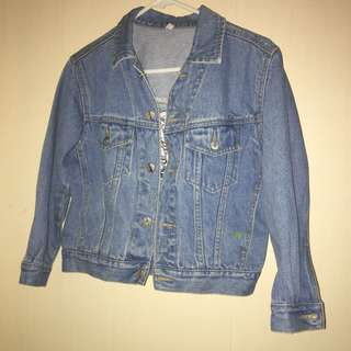 Denim Jacket No Label